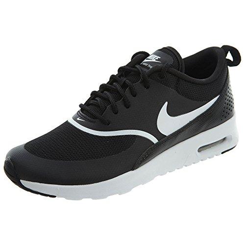 Nike Women's Air Max Thea Black/White Running Shoe 7 Women US