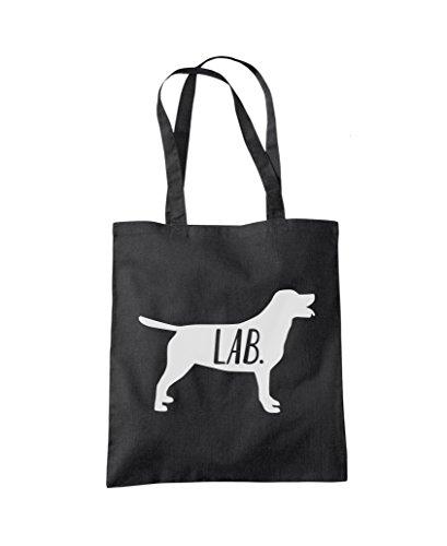 Black Bag Fashion Dog Labrador Tote Labrador Tote Shopper Shopper Dog HOwxOp7q