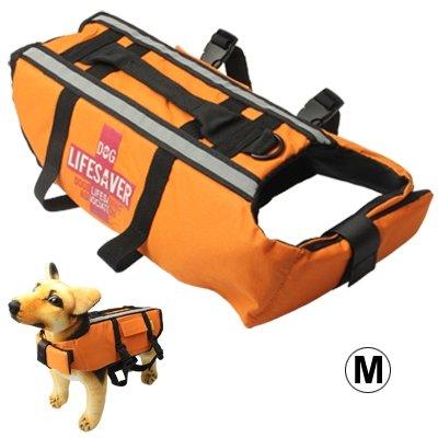S-hps-0468m Pets Saver Dog Life Vest Jacket for Swimming Boating Surfing, Size  M (color   S-hps-0468m)