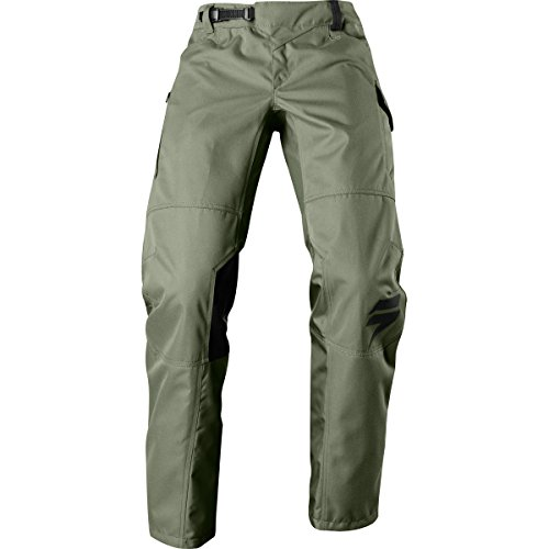 2018 Shift Recon Drift Pants-Fat Green-36 (Dirt Bike Pants Over Boot)
