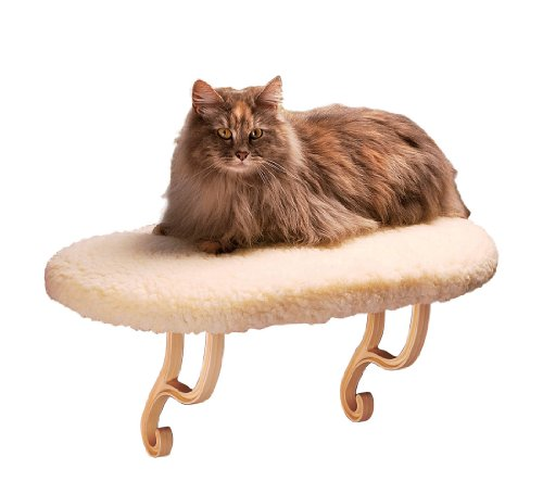 K&H Pet Products Kitty Sill, Unheated, Fleece (Sill Seat Window)