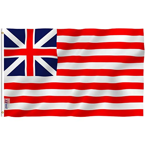 (Anley Fly Breeze 3x5 Foot Grand Union Flag - Vivid Color and UV Fade Resistant - Canvas Header and Double Stitched - Continental Colors Flags Polyester with Brass Grommets 3 X 5 Ft)