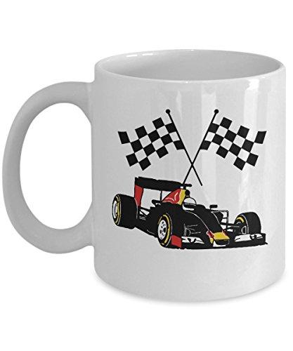 Formula One - F1 - Racing Car and Flag ()