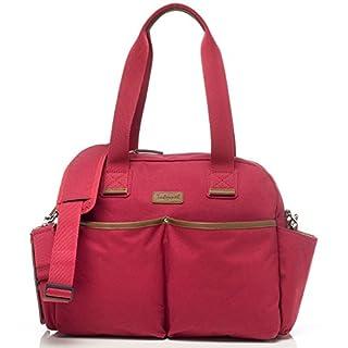 Babymel Jesse Shoulder Bag Diaper Bag, Red