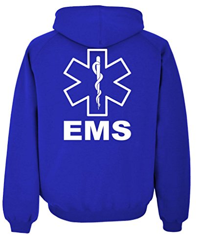 EMS REFLECTIVE emergency Pullover Hoodie