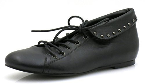 Buffalo Scarpe di cuoio lacci scarpe donna
