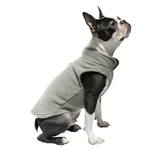 Gooby Every Day Fleece Cold Weather Dog Vest for Small Do...