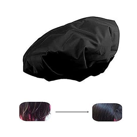 Locisne DIY Calor Térmico Del Pelo Caliente Microwavable Micrófono Del Cabello Acondicionador Del Sombrero Casquillo Del