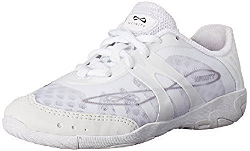 Price comparison product image Nfinity Vengeance Cheer Shoe (Pair), White, 4