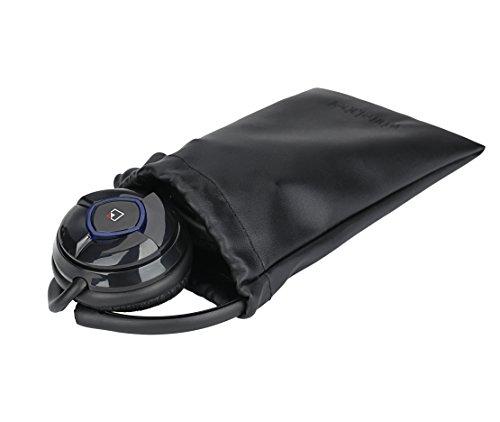WhiteLabel MusicJogger Wireless Bluetooth Stereo Headphones, Headphone, Sport Headset, Music Streaming, Noise Reduction Handsfree Voice Calling (Black)