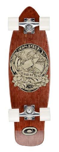 Osprey TY5343 ?In Skate We Trust? Single Kick Mini Cruiser Skateboard