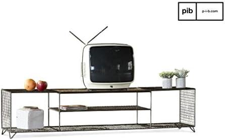 PIB Mueble para televisor, Gris Souris nacré, 36.00 x 150.00 x ...