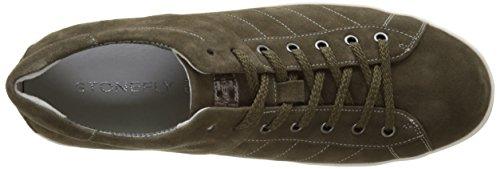 Stonefly Oscar 1, Zapatillas para Hombre Marrón (Mud E86)