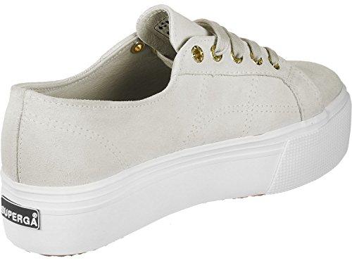 Superga Damen 2790 Suew Sneaker Beige