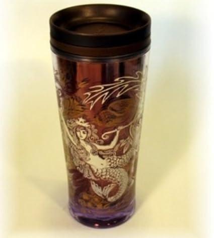 Travel Mug Starbucks Brownamp; Anniversary Mermaid Copper 2009 Tumbler YE9IH2WD