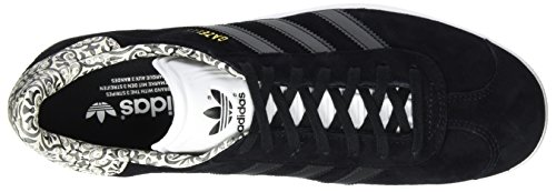 Damen Sneakers Schwarz Footwear Black Core White Gazelle Black Core adidas dqUwxgd