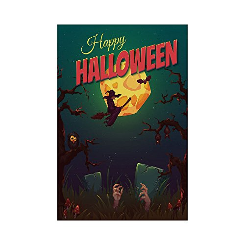 Polyester Garden Flag Outdoor Flag House Flag Banner,Hallowe