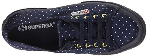 Superga 2750 DOTSSATINW - Zapatillas Mujer Navy