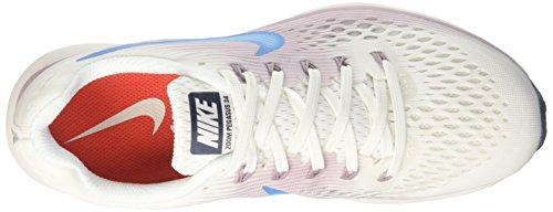 Running 105 34 Zoom Pegasus Summit Wmns White Air Equator Scarpe Donna Nike Bianco wYfURTxx