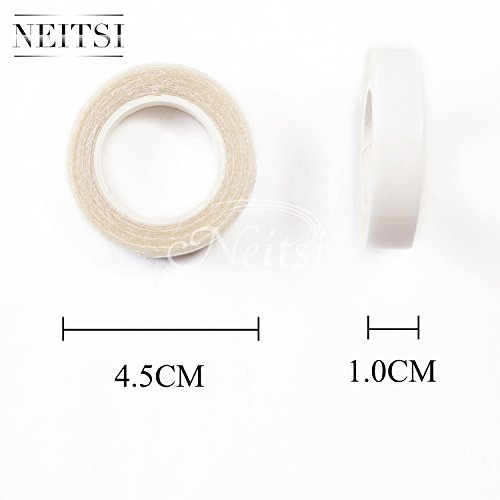 neitsi-1cmx3y-double-sided-tape-for-pu-hair-extension-wig-adhesive-waterproof-clear-white
