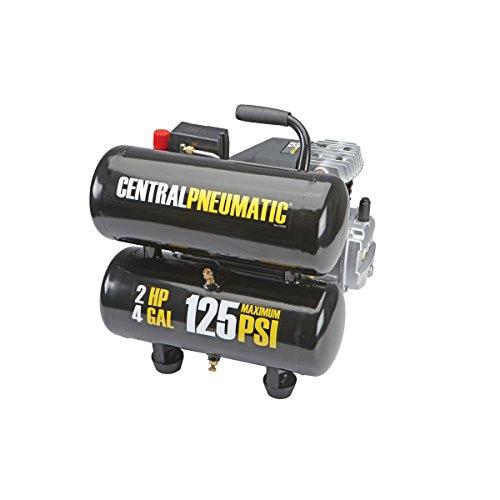 4 gal. 2 HP 125 PSI Twin Tank Air Compressor