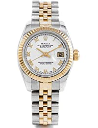 179173 Ladies 26mm Datejust Model - White Roman - Hidden Clasp Jubilee Band (Certified Pre-Owned)