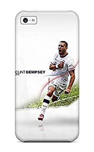 Protective Tpu Case With Fashion Design For Iphone 5c (clint Dempsey)