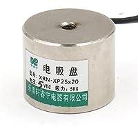 heschen electroimán imán solenoide P25/20, OD: 25mm, DC