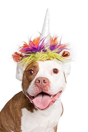 Pet Krewe PK00203 Unicorn Costume for Medium & Big Dogs ()