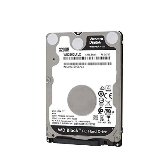 WD Black Performance 320 GB 2.5-Inch SATA 6Gb/s 7200 RPM 32MB Cache Mobile Hard Disk Drive (WD3200LPLX) 41qWGYAsAFL. SS555
