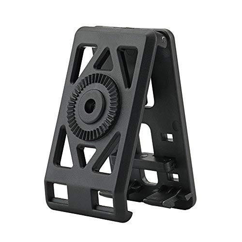 CYTAC Belt Clip Platform, Adjustable Belt Loop Holster Attachment Quick Mount Clamshell, Black