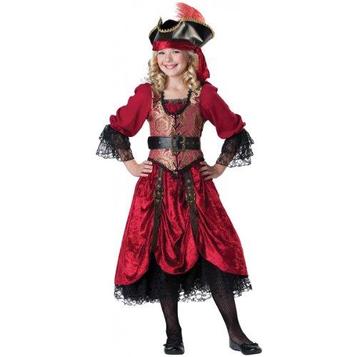 Swashbucklin Scarlet Child Costume - ()