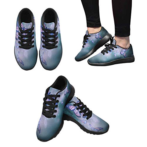 Sneakers Multi Women's 6 Cross Running InterestPrint Trainers ZHgdq