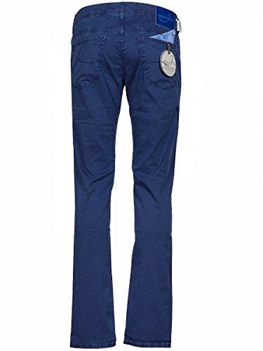 Jacob Cohen Homme J6134701 Bleu Coton Pantalon