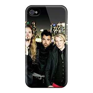 Quality Pollary Case Cover With Apocalyptica Band Nice Appearance Compatible With Iphone 4/4s