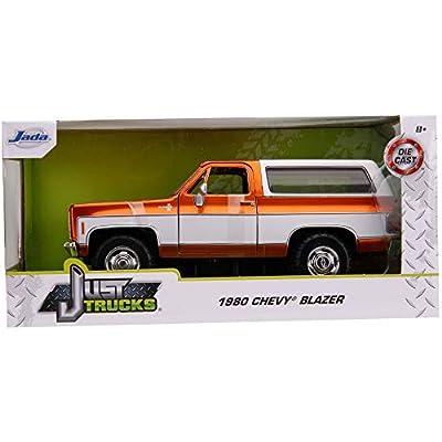 1980 Chevrolet Blazer K5 Copper and White Just Trucks 1/24 Diecast Model Car by Jada 31591 MJ: Toys & Games