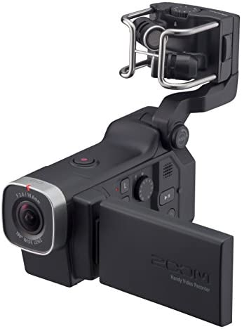 Zoom Q8 Handy Video Recorder, 3M High Definition Video, Stereo Microphones Plus Two XLR/TRS Combo Inputs, Four Tracks of Audio Recording, for Recording, Music, Video, Youtube Videos, Livestreaming
