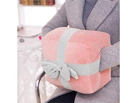 FOOBRTOPOO Cuscino scaldamani, scaldamani, scaldamani, Peluche, Bambola, Cuscino (Rosa) (Colore : Pink, Dimensione : 30x20x20cm)
