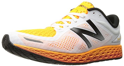 New Balance Mens MZANTEV2 Running Shoe, White/Impulse, 47 EU/12 UK