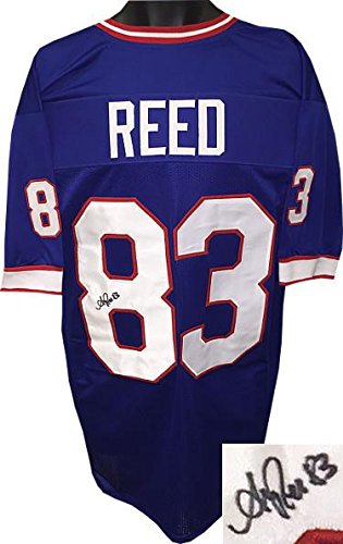 f5b68f3f Autographed Andre Reed Jersey - Blue TB Custom Stitched Pro Style ...