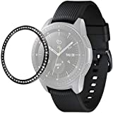 for Samsung Galaxy Watch 46mm & G3 Screen Protector for Galaxy 46mm Watch and Tempered Glass Screen (Black)