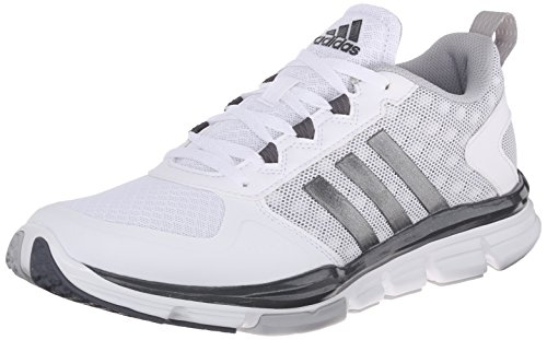 adidas Performance Men's Speed 2 Cross-Trainer Shoe, White/Carbon Metallic/Light Onyx, 13 M US (Adidas Cross Trainer)