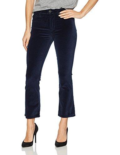 Hudson Jeans Women's Brix High Rise Cropped Boot 5 Pocket Jean, Dark Obsidian, 26