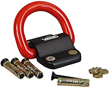 Vector Kit ancre platine fixation sol//mur cadenas Compac Block 95x78mm Ø22mm 92790