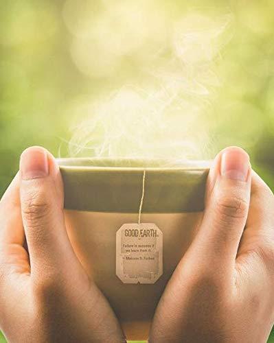 Good Earth Herbal & Black Tea, Sweet & Spicy, 18 Count Tea Bags/pack (Pack of 6