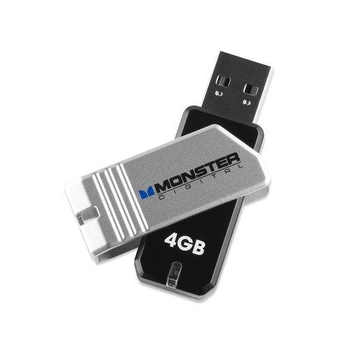 Monster Digital Coppa 4GB USB 2.0 Flash Drive - Monster Usb Flash Drive