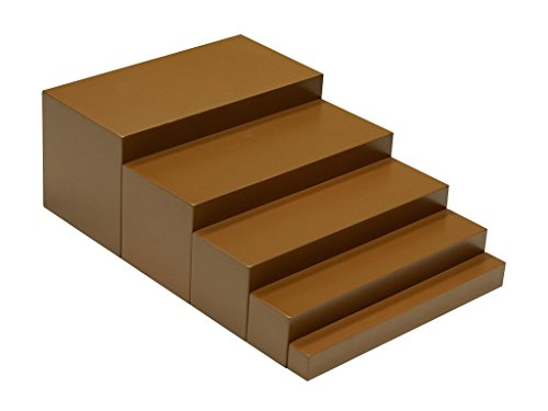 Montessori Materials Brown Stairs 5 Steps Toddler Toy