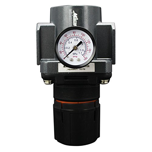 High Air Regulators Pressure (EXELAIR by Milton FRL (High Flow) Air Regulator - 3/4
