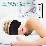 Sleep Headphones Bluetooth Eye Mask, Joseche