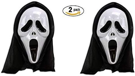 houseware 2 Caretas Scream con Capucha Disfraz Mascara ...